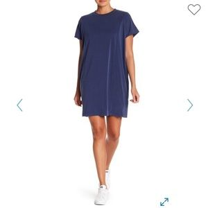 Madewell Sandwashed Jersey Dress